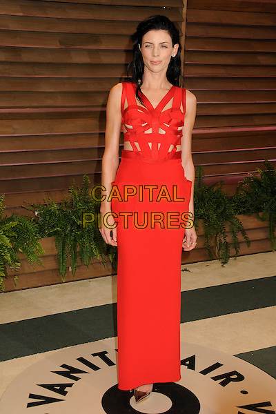 02 March 2014 - West Hollywood, California - Liberty Ross. 2014 Vanity Fair Oscar Party following the 86th Academy Awards held at Sunset Plaza.  <br /> CAP/ADM/BP<br /> &copy;Byron Purvis/AdMedia/Capital Pictures