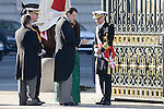 President Mariano Rajoy and Maria Dolores de Cospedal during the Military Easter at Royal Palace in Madrid, Spain. January 06, 2017. (ALTERPHOTOS/BorjaB.Hojas)
