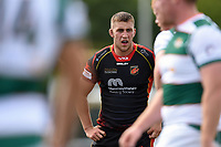 Huw Taylor of the Dragons. Pre-season friendly match, between Ealing Trailfinders and the Dragons on August 11, 2018 at the Trailfinders Sports Ground in London, England. Photo by: Patrick Khachfe / Onside Images