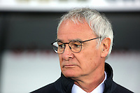 Leicester manager Claudio Ranieri before the Barclays Premier League match between Swansea City and Leicester City at the Liberty Stadium, Swansea on December 05 2015