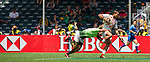South Africa vs Japan during the HSBC Sevens Wold Series match as part of the Cathay Pacific / HSBC Hong Kong Sevens at the Hong Kong Stadium on 28 March 2015 in Hong Kong, China. Photo by Juan Manuel Serrano / Power Sport Images