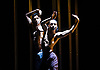 London, UK. 28.04.2017. Shobana Jeyasingh Dance presents the London premier of 'Material Men redux' at The Place. Photo shows: Sooraj Subramaniam & Shailesh Bahoran. Photo - © Foteini Christofilopoulou.