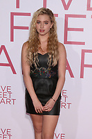 """LOS ANGELES - MAR 7:  Lilia Buckingham at the """"Five Feet Apart"""" Premiere at the Bruin Theater on March 7, 2019 in Westwood, CA"""