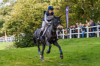 USA-Elisabeth Halliday-Sharp rides Cooley Moonshine during the Cross Country for the CCI3*-L7YO. 2019 FRA-Mondial du Lion - FEI World Breeding Championships. Le Lion d'Angers. France. Saturday 19 October. Copyright Photo: Libby Law Photography
