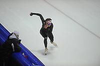 SCHAATSEN: HEERENVEEN: IJsstadion Thialf, 04-02-15, Training World Cup, Dennis Yuskov (RUS), ©foto Martin de Jong