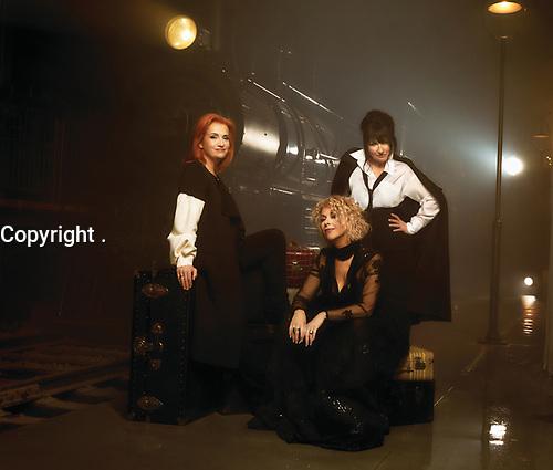 Marie-Denise Pelletier, Marie Carmen , Joe Bocan<br /> reunies en 2020 pour ''pour une histoire d'un soir''<br /> <br /> Photo de promotion