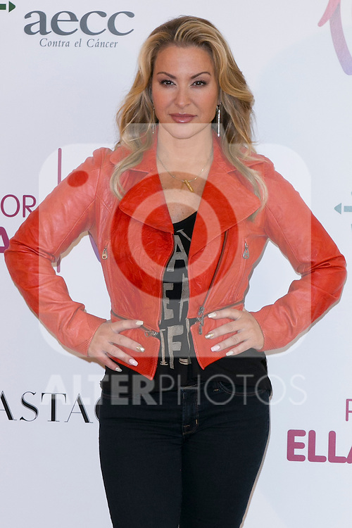 "US singer ANASTACIA at the presentation of her new album ""Resurrection"" an the Charity Concert ""Por Ellas"" at the Spanish Against Cancer Asociation (AECC) building in Madrid, Spain. May 20, 2014. (ALTERPHOTOS/Carlos Dafonte)"