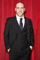 Jimmy Essex<br /> arrives for the British Soap Awards 2016 at Hackney Empire, London.<br /> <br /> <br /> &copy;Ash Knotek  D3124  28/05/2016