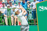 Tommy Fleetwood (ENG) on the 1st tee during the first round at the Nedbank Golf Challenge hosted by Gary Player,  Gary Player country Club, Sun City, Rustenburg, South Africa. 14/11/2019 <br /> Picture: Golffile | Tyrone Winfield<br /> <br /> <br /> All photo usage must carry mandatory copyright credit (© Golffile | Tyrone Winfield)