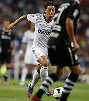 02.09.2012 SPAIN -  La Liga 12/13 Matchday 3th  match played between Real Madrid CF vs  Granada C.F. (3-0) at Santiago Bernabeu stadium. The picture show Mesut Ozil (German midfielder of Real Madrid)