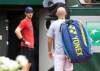 ANDY MURRAY (GBR), PRACTICE<br /> <br /> TENNIS - FRENCH OPEN - ROLAND GARROS - ATP - WTA - ITF - GRAND SLAM - CHAMPIONSHIPS - PARIS - FRANCE - 2016  <br /> <br /> <br /> <br /> &copy; TENNIS PHOTO NETWORK