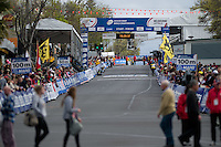GEELONG, 30 SEPTEMBER - The Start/Finish line at the 2010 UCI Road World Championships time trial event in Geelong, Victoria, Australia. (Photo Sydney Low / syd-low.com)
