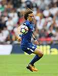 Chelsea's David Luiz in action during the premier league match at the Wembley Stadium, London. Picture date 20th August 2017. Picture credit should read: David Klein/Sportimage