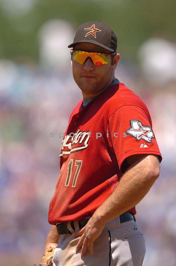 LANCE BERKMAN, of the Houston Astros  , in action during the Astros  game against the Chicago Cubs  in Chicago, IL  on July 15,  2007...Cubs  win 7-6...CHRIS BERNACCHI/ SPORTPICS.
