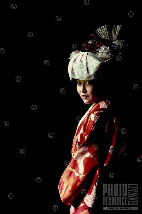 Japanese Kimono bride