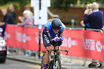 Tanel Kangert (EST) in action during the Men Elite Individual Time Trial of the UCI World Championships 2019 running 54km from Northallerton to Harrogate, England. 25th September 2019.<br /> Picture: Eoin Clarke | Cyclefile<br /> <br /> All photos usage must carry mandatory copyright credit (© Cyclefile | Eoin Clarke)