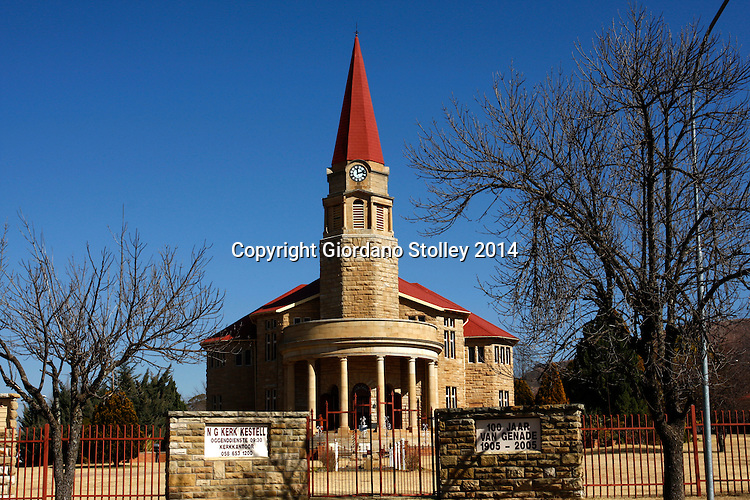 KESTELL - 21 June 2014 - The Dutch Reformed Church in the town of Kestell in the eastern part of South Africa's Free State province is more than 100 years old. Picture: Allied Picture Press/APP