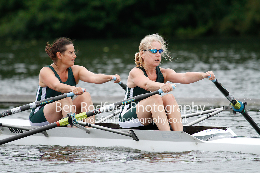 W.MasC.2x QF -  Berks: 265 Trafford RC -  Bucks: 266 Maidenhead RC<br /> <br /> Friday - Henley Masters Regatta 2016<br /> <br /> To purchase this photo, or to see pricing information for Prints and Downloads, click the blue 'Add to Cart' button at the top-right of the page.