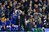 5th November 2017, Stamford Bridge, London, England; EPL Premier League football, Chelsea versus Manchester United; An animated Chelsea Manager Antonio Conte