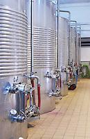 tank door stainless steel tanks quinta do vallado douro portugal