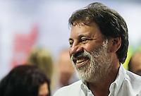 SAO PAULO, SP, 27 FEVEREIRO 2013 - 30 ANOS CUT -  O ex tesoureiro do Partido dos Trabalhadores (PT) durante o evento de comemoração dos 30 anos da Central Única dos Trabalhadores (CUT), realizado no Novotel Jaraguá, no centro de São Paulo, na manhã desta quarta- feira (27). (FOTO: WILLIAM VOLCOV / BRAZIL PHOTO PRESS).