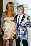 BEVERLY HILLS, CA. - February 07: Musician Rod Stewart (L) and Penny Lancaster  arrive at the 2009 GRAMMY Salute To Industry Icons honoring Clive Davis at the Beverly Hilton Hotel on February 7, 2009 in Beverly Hills, California.