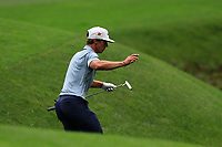 Thorbjorn Olesen (DEN) on the 13th fairway during the final round at the The Masters , Augusta National, Augusta, Georgia, USA. 14/04/2019.<br /> Picture Fran Caffrey / Golffile.ie<br /> <br /> All photo usage must carry mandatory copyright credit (© Golffile | Fran Caffrey)