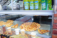 Pizza is just one of the hundreds of foods available at the 2015 Wisconsin State Fair on Thursday, August 6, 2015 in West Allis, Wisconsin