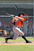 Baltimore Orioles Thomas Winegardner #48 during a minor league spring training game against the Minnesota Twins at the Buck O'Neil Complex on March 19, 2012 in Sarasota, Florida.  (Mike Janes/Four Seam Images)