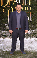 Josh Gad<br /> arrives for the &quot;Beauty and the Beast&quot; screening, St.James', London.<br /> <br /> <br /> &copy;Ash Knotek  D3234  23/02/2017