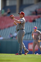 Lehigh Valley IronPigs relief pitcher Alexis Rivero (35) during an International League game against the Buffalo Bisons on June 9, 2019 at Sahlen Field in Buffalo, New York.  Lehigh Valley defeated Buffalo 7-6 in 11 innings.  (Mike Janes/Four Seam Images)