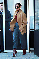 NEW YORK, NY - FEBRUARY 8: Victoria Beckham seen in New York City on February 08, 2018. <br /> CAP/MPI/RW<br /> &copy;RW/MPI/Capital Pictures