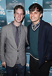 Alex Wyse and Andy Mientus attending the Off-Broadway Opening Night Performance After Party for 'Falling' at Knickerbocker Bar & Grill on October 15, 2012 in New York City.