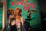 """Maura West - As The World Turns' """"Carly"""" and Young and Restless, poses with her daughter Kate and husband Scott's mom as son Joe makes his Broadway Debut as """"Ralphie"""" in A Christmas Story The Musical on December 19, 2012 at the Lunt-Fontanne Theatre, New York City, New York. (Photo by Sue Coflin/Max Photos)"""