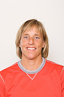 Goalkeeper coach Amy Griffin. U-17 USA Women's National Team head shots on September 16, 2008. Photo by Howard C. Smith/isiphotos.com