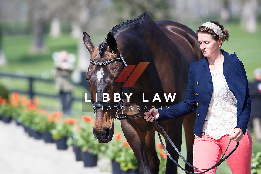 USA-Erin Sylvester (NO BOUNDARIES) THE JOG: 2015 USA-Rolex Kentucky Three Day Event CCI4* (Wednesday 22 April) CREDIT: Libby Law COPYRIGHT: LIBBY LAW PHOTOGRAPHY