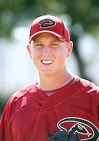 Jeff Shields - Arizona Diamondbacks - 2010 Instructional League.Photo by:  Bill Mitchell/Four Seam Images..