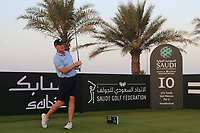 Ernie Els (RSA) on the 10th during the Preview of the Saudi International at the Royal Greens Golf and Country Club, King Abdullah Economic City, Saudi Arabia. 28/01/2020<br /> Picture: Golffile | Thos Caffrey<br /> <br /> <br /> All photo usage must carry mandatory copyright credit (© Golffile | Thos Caffrey)