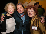 Penny Fuller, Dale Soules and Anita Gillette attends The Vineyard Theatre's Emerging Artists Luncheon at The National Arts Club on November 9, 2017 in New York City.