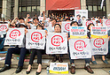 South Korean TV network workers strike