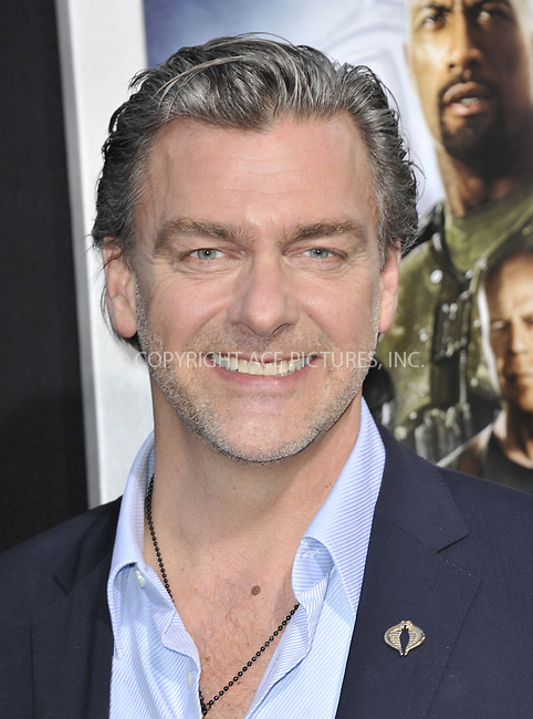 WWW.ACEPIXS.COM....March 28 2013, LA....Ray Stevenson arriving at the 'G.I. Joe: Retaliation' Los Angeles premiere at the TCL Chinese Theatre on March 28, 2013 in Hollywood, California.......By Line: Peter West/ACE Pictures......ACE Pictures, Inc...tel: 646 769 0430..Email: info@acepixs.com..www.acepixs.com