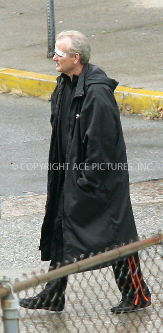 WWW.ACEPIXS.COM . . . . . ....NEW YORK, OCTOBER 20, 2004....Bill Murray on the set of the new Jim Jarmusch project in NYC.....Please byline: BRIAN FLANNERY - ACE PICTURES.. . . . . . ..Ace Pictures, Inc:  ..Alecsey Boldeskul (646) 267-6913 ..Philip Vaughan (646) 769-0430..e-mail: info@acepixs.com..web: http://www.acepixs.com