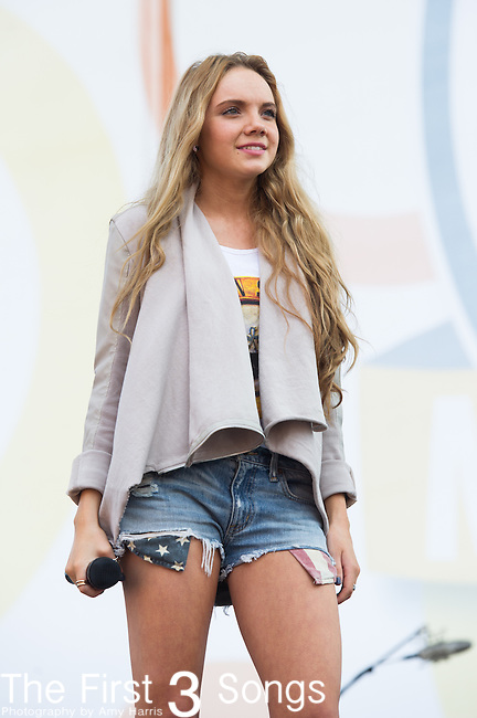Danielle Bradbery performs on Day Two of the 2014 CMA Music Festival in Nashville, Tennessee.