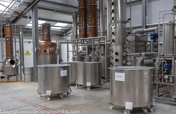 Ramsbury brewing and distilling company, Aldebourne, Wiltshire, England, UK