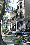 Stairways in Montreal