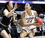 UNCASVILLE, CONNECTICUT -MAR 05: , Uconn ladies defeated Cincinnati in the semis of the AAC tournament 75-21 on March 5, 2018 in Uncasville, Connecticut. ( Photo by D. Heary/Eclipse Sportswire/Getty Images)