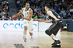 Real Madrid Anthony Randolph and Brose Bamberg Luka Mitrovic during Turkish Airlines Euroleague match between Real Madrid and Brose Bamberg at Wizink Center in Madrid, Spain. April 06, 2018. (ALTERPHOTOS/Borja B.Hojas)