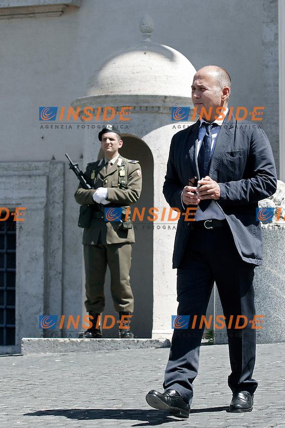 Ferzan Ozpetek.Roma 03/04/2012 Cerimonia di presentazione dei David di Donatello 2012 al Quirinale.Foto Serena Cremaschi Insidefoto
