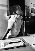 Mozambico, Maputo. Bambini a scuola elementare