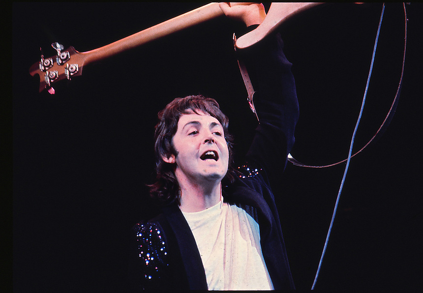 Paul McCartney and Wings.